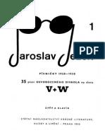 Ježek, Voskovec a Werich Noty
