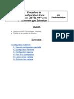Procedure Schneider Liaison Unitelway