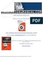 Edelbrock AVS Carburetor Installation Manual