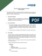 Bases Concurso Corporativo de Papers