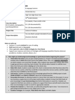 scaffolding project template2014