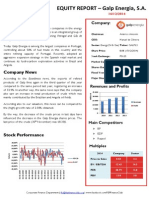 Equity Valuation Report - GALP