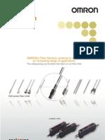 Omron - Fiber Sensors Best Selection Catalog