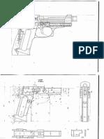 Beretta 35 blueprints