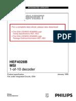 4028 1-10 decoder