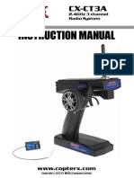 Copter X CX CTa Manual