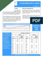 Consumer Price Index - Oct 14