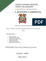 PROYECTO de Toxicologia Ambiental 2014