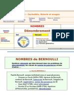 Nombres de Bernoulli