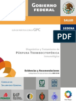 guia purpura trombocitopenica idiopatica
