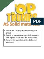 Materials Top Trumps