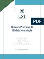 Bitacora Neuro CK UST