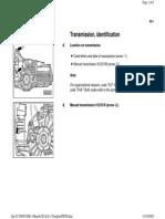 00-1 Manual Transmission ID