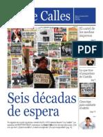 Entre Calles, revista de estudiantes de Periodismo de la Ruiz de Montoya.