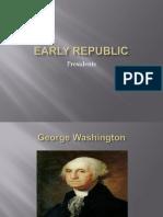 early republic presidents