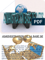 Administracion Base de Datos