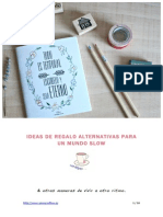 Ideas de regalo para un mundo slow