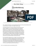 Revolutionen in der arabischen Welt_ Arabische Bankrotterklärung - Kommentare Nachrichten - NZZ.ch