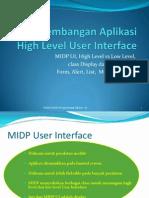 KD 2 High Level User Interface