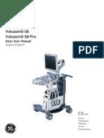 Voluson® S6 Voluson® S8 Voluson® S8 Pro Basic User Manual