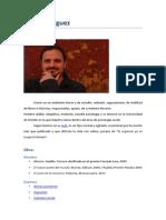 café literario con... Julio Rodríguez