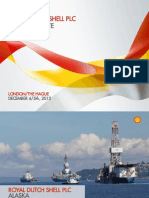 Shell Oil presentation on Alaska Arctic drilling