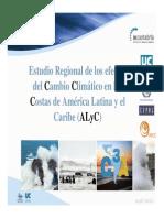 Estudio Regional de Los Efectos Cambio Climatico