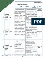 Ingles - Planificacion - 1 Basico