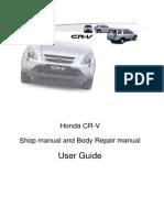 honda cr-v 1997-2001 User Guide Uk