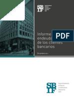 Informe Endeudamiento de Los Clientes Bancarios