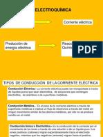 Presentación electroquímica