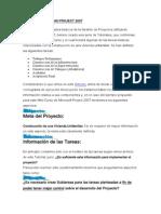 Conceptos Básicos MS Project 2007
