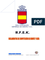 Rules Kumite and Kata 2013, WKF