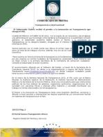 03-10-2013 El Gobernador Guillermo Padrés recibió el Premio a la Innovación en Transparencia, en la categoría estado, que otorga el IFAI. B101313