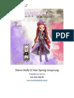 Diário Holly o Hair