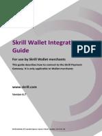 Skrill Gateway Guide - Wallet