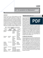 Management of Jaundice in Pregnancy 2010
