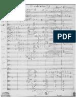 Salaambo's Aria Orchestra Manuscript