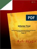 Archivo del Terror Informe Final de la Comisión de Verdad y Justicia Tomo V