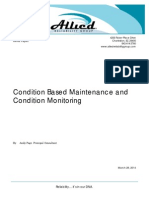 Allied Condition Based Maintenance