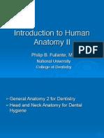 DGENAN2 L101 Introduction to Anatomy II 2014