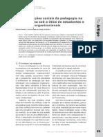 Representações sociais da pedagogia na e da empresa sob a ótica de estudantes e pedagogos organizacionais.