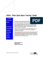 Ideal Fiber Optic Training Guide