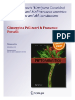 Alien Scale Insects (Hemiptera Coccoidea) in European and Mediterranean Countries-The Fate of New and Old Introductions 2014 Pellizzari Porcelli