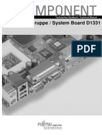 Manual Placa Base Fujitsu Siemens D1331