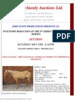 Frank McInenly Auctions-John Scott Productions