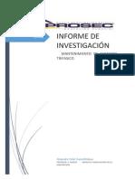 Informe de Mantencion de Equipos Trifasicos