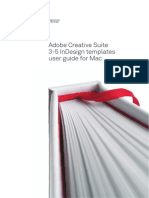 Ubyu Indesign Templates User Guide Mac