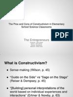 mini report constructivism