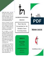 INBMCR Membership Brochure